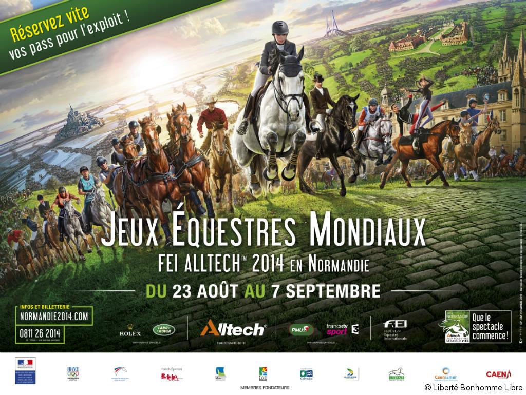 Les Jeux Equestres Mondiaux en Normandie