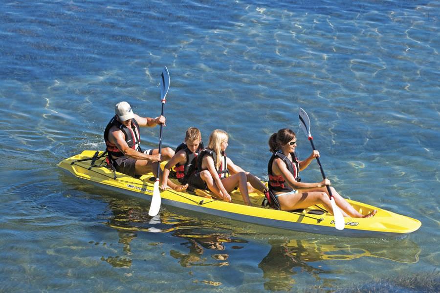 Naviguer en Kayak: un véritable loisir