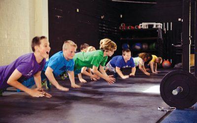 Le CrossFit, c'est aussi pour les enfants